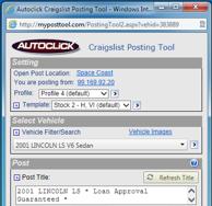 Autoclick craigslist post tool drag and drop posting maxwellsz